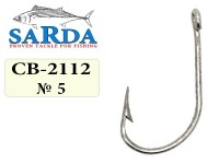 Крючки Sarda Feeder Hook FH-2112 - № 5