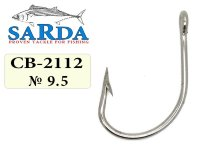 Крючки Sarda Feeder Hook FH-2112 - № 9.5