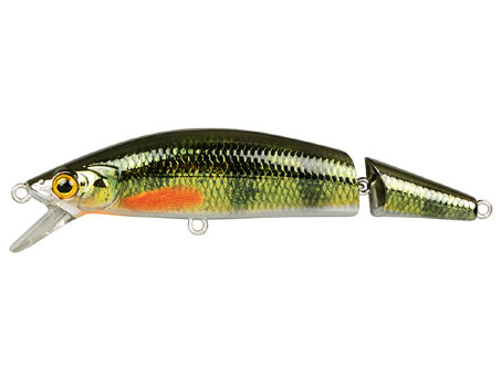 Воблер SPRO Ikiru Jointed 110 - Chrome Green Perch