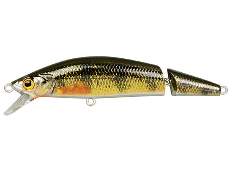 Воблер SPRO Ikiru Jointed 110 - Chrome Yellow Perch