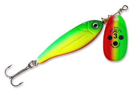 Блесна Blue Fox Minnow Super Vibrax BFMSV1 - GYR