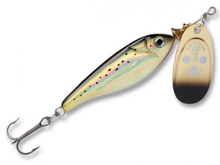 Блесна Blue Fox Minnow Super Vibrax BFMSV3 - G