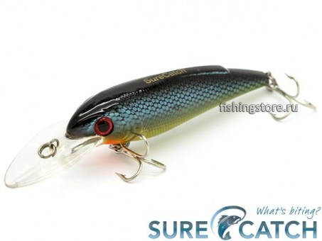 Воблер SureCatch Baby Shad 80F - L32