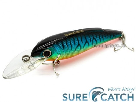 Воблер SureCatch Baby Shad 80F - L28