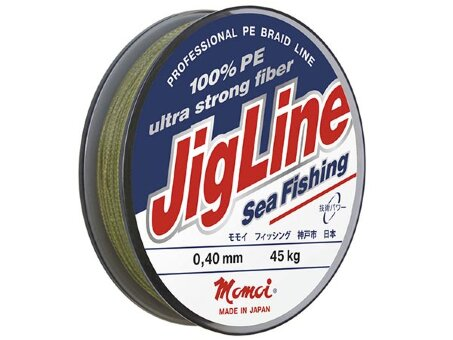 Шнур JigLine Sea Fishing - 0.45 мм, 250 м