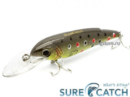 Воблер SureCatch Baby Shad 80F - L72