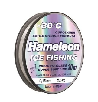 Леска Hameleon Ice Fishing 0.22 мм (30 м)