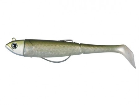 Приманка DAM EFFZETT KICK-S MINNOW WEEDLESS PADDLE TAIL 90 мм - Arkansas Shiner (52702)