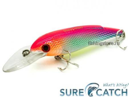 Воблер SureCatch Baby Shad 80F - L14
