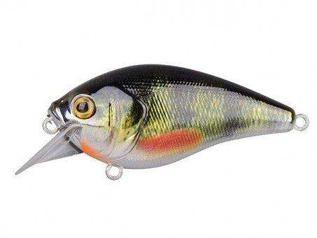 Воблер SPRO Ikiru Crank 60SL - Chrome Green Perch