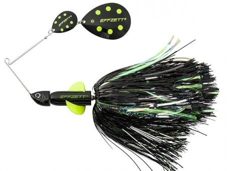 Спиннербейт DAM EFFZETT PIKE RATTLIN' SPINNERBAIT 43 г - Black Demon (56294)