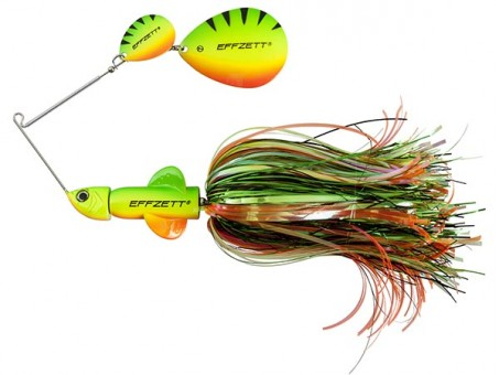 Спиннербейт DAM EFFZETT PIKE RATTLIN' SPINNERBAIT 43 г - FireTiger (56293)