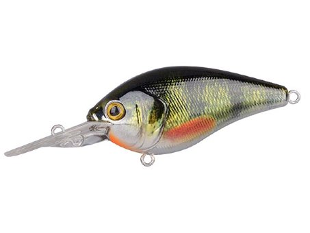Воблер SPRO Ikiru Crank 60LL - Chrome Green Perch