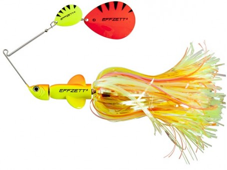Спиннербейт DAM EFFZETT PIKE RATTLIN' SPINNERBAIT 43 г - Fluo Yellow Orange (56292)