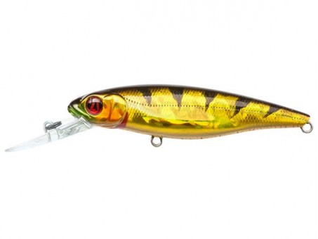 Воблер Pontoon 21 Greedy Guts 77F MDR - 470 CB Crash HG Gold Perch