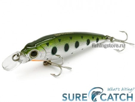 Воблер SureCatch Super Minnow 70F - L12