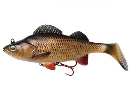 Приманка DAM EFFZETT PERCH PADDLE TAIL (14 cм) - CHUB (60202)