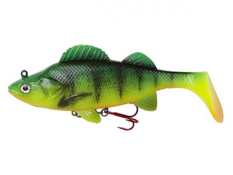 Приманка DAM EFFZETT PERCH PADDLE TAIL (14 cм) - FIRE PERCH (60204)