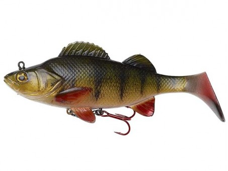 Приманка DAM EFFZETT PERCH PADDLE TAIL (14 cм) - PERCH (60200)